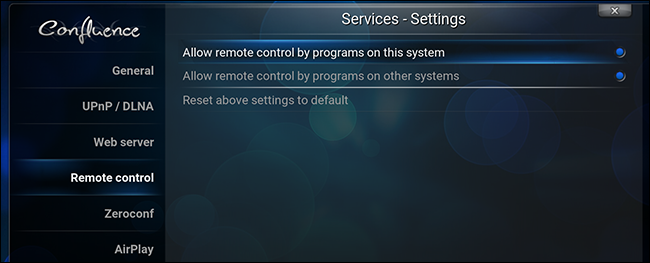 kodi-allow-remote-controls