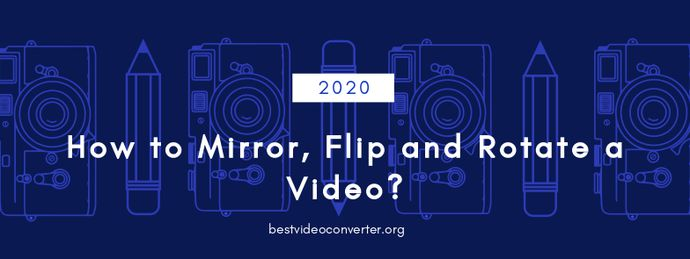 how to mirror flip and rotate a video